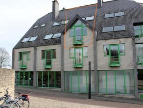 Duplex appartement met één slaapkamer en een bewoonbare oppervlakte van +/- 57 m² gelegen in Leuven. Het appartement is zeer goed g