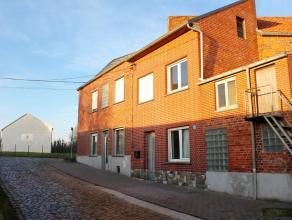 Op te frissen woning in het rustige en landelijke Glabbeek met o.a. 3 slaapkamers en garage! Klein beschrijf mogelijk! EPC: 813 Het gelijkvloers besta