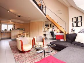 Gezellig duplex appartement (flat) met één slaapkamer en een bewoonbare oppervlak van +/- 75 m² gelegen nabij UZ Gasthuisberg, Imec