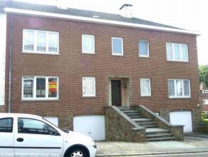bon appartement, composé d'un hall, cuisine équipée, grand living, 2 chambres, 1 sdb, 1 cave, 1 garage, chauffage central au mazo