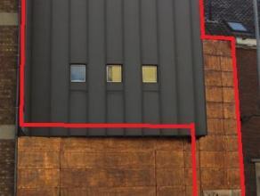 Exclusief luxe één slaapkamer appartement bemeubeld, op de 1ste verdieping nabij centrum Aalst (60 m²). Het appartement omvat een l