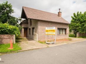 Instapklaar, vrijstaande woning met 5 slpk's, laag KI            In een rustige omgeving, kortbij Maasmechelen Village, bevindt zich op de Nijverheids