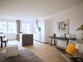 LUCHTIG en ZONOVERGOTEN appartement op een zucht van het bruisende centrum van Antwerpen met een oppervlakte van 107m². Volledig gerenoveerd met