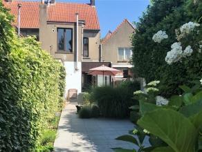 UITMUNTEND gelegen HANDELSPAND met woonst en volledig ZUIDGERICHTE tuin. De woning is momenteel in gebruik als dubbele woonst (2 appartementen) maar i