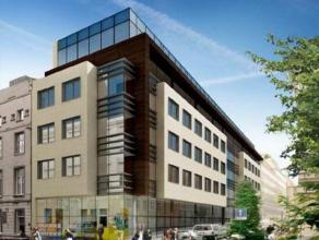 Uniek project, kantoorgebouw in het Europees district te Brussel. +/- 4000m² kantoorruimte gebouwd in een hedendaagse, indrukwekkende stijl. Tran