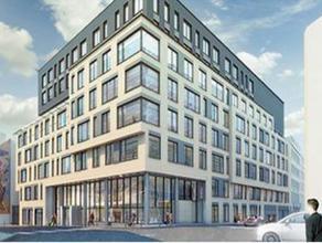 Prachtig kantorengebouw gelegen in het centrum van Brussel. Vlotte verbinding tot het openbaar vervoer.