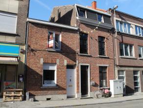 Welgelegen rijwoning, binnen de ring van Leuven vlakbij de Tervuurse Poort. Deze starterswoning omvat: Indeling: Onderaards: Bergkelder van ca. 8,47m&