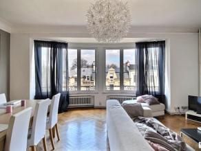 VERVIERS : Bel appartement très lumineux de 110 m² à louer dans une petite résidence calme avec ascenseur. Il se compose de