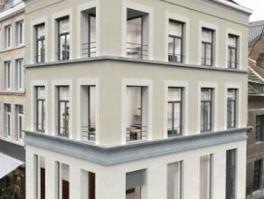 Liège-centre: En cours de reconstruction intégrale, ce très bel immeuble à la façade historique dispose d'un rez-de