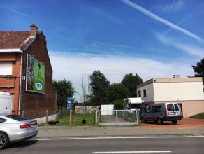 Steenweg 158 te Opwijk: Bouwgrond van 445m² (10x40m) voor een 3-gevel woning. Bouwvoorschriften op aanvraag.