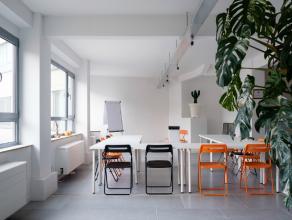 Deze mooie ruimte is op heden in gebruik als atelier & expositieruimte, maar kan mits aanvraag van bestemmingswijziging uw droomloft (zoals voordi