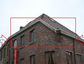 Dakappartement centrum Wetteren Aangenaam en rustig gelegen dakappartement in het centrum van Wetteren. Living-woonkamer en openkeuken, badkamer met l