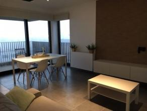 Zeer luxueus appartement met 2 slaapkamers en een ruim terras ( 12m²), kelder én autostaanplaats Het betreft een nieuwbouwpand ( 2014) op