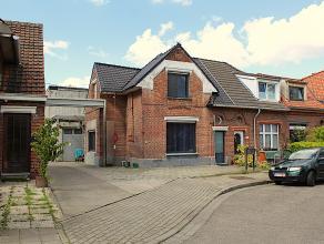 """Aangenaam en rustig wonen in de geliefde """"Tuinwijk Heike.""""  Instapklare woning met een achterliggend magazijn.  De woning heeft een ruime leefruimte,"""