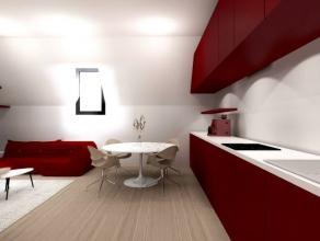 En plein coeur de Namur, appartement 2 chambres à rénover situé au 3ème étage d'un petit immeuble sans charges. Pla