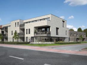 Appartement 1.7, eerste verdieping opp.: 100,26m²(Brutto)Appartement op de eerste verdieping met 2 slaapkamers, terras van 11,86m², kelderbe