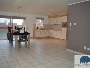 Algemeen: Dit gelijkvloers appartement bestaat uit 2 slaapkamers, een zeer ruime woonkamer, een volledig geïnstalleerde keuken, kelderberging, ca