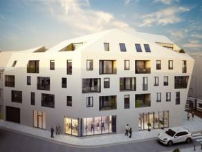 Hartje Gent: nieuwbouw, casco handelsgelijkvloers van 500m² (kleinere oppervlaktes ook mogelijk) in nieuw project op de hoek van de Rodelijvekens