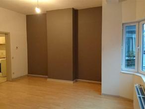 Appartement te huur op de eerste verdieping, gelegen op wandelafstand van openbaar vervoer en station Gent-Sint- Pieters. Het appartement omvat: klein