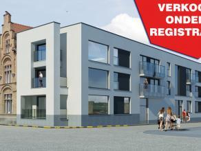Ruim en kwalitatief appartement (125,76m²) met een zeer centrale doch rustige ligging. De nieuwbouwappartementen liggen op ongeveer 1,2 km van de
