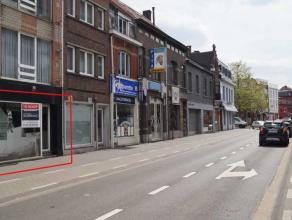 Kempische Steenweg 17: Zeer goed gelegen handelsgelijkvloers in de nabijheid van de blauwe boulevard en het stadscentrum. <br /> <br /> Ideale handels