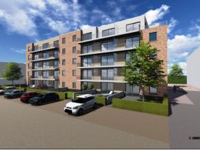 Magnifique penthouse 3 chambres de 121,45 m² situé au 4 ième étage avec terrasse de 43 m² dans une nouvelle rési