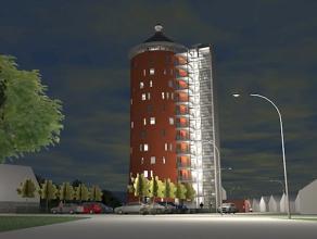Nieuwbouwkantoren te huur! Nieuwbouwkantoren te Zelzate (Oude Watertoren). Te huur per niveau, keuze van oppervlakt tussen 135 m² tot 2000 m&sup2