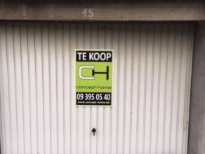 Ruime garagebox te koop in de Verpleegsterstraat te Gent. Interesse? Neem gerust contact met ons op