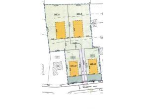 1 van 3 percelen bouwgrond te koop in tweede bouwlijn van 1666,76 m2 net buiten de dorpskern van Lovendegem. Ideale orientatie en rustige ligging. In