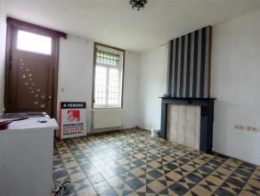 Braine-Le-Comte, maison à rénover offrant 140 m² de surface habitable comprenant séjour, salle à manger, cuisine s&ea
