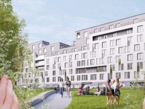 Deze nieuwbouw handelsruimte ligt middenin een grote kantoorwijk aan de rand van de Brusselse vijfhoek. De handelsruimte meet 120m² en komt op he