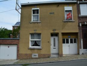 Seraing : Maison familiale 3 chambres, garage et grand jardin. Plaine de jeux juste en face. Idéale pour un premier achat, possibilité d