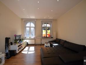 Ruim appartement op 100m van het Sint-Pietersstation.Samenstelling. Inkom, living, geïnstalleerde keuken, ruime slaapkamer en moderne badkamer. B