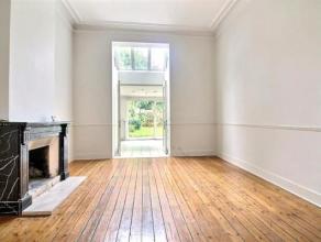ETTERBEEK : Belle maison de +/- 280 m² à deux pas du parc Cinquantenaire et de Mérode. Vous pourrez profiter d'un quartier calme et
