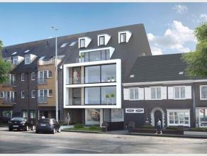 Dit duplex appartement bevindt zich op het 3de en 4de verdiep van dit nieuwbouwproject. Het appartement bestaat uit een inkomhal met mogelijkheid voor