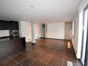 Résidence 'La Briqueterie': magnifique appartement style loft, disposant d'une chambre, d'un living avec une sublime cuisine américaine