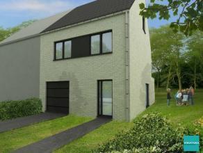 Nieuw te bouwen woning te koop gelegen op een terrein van 4are55 nabij het centrum en station van Opwijk maar eveneens in de nabijheid van volle groen