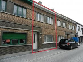 Deze knusse twee-gevel woning bestaat op het gelijkvloers uit een hal, keuken, woonkamer en koer. De verdieping is ingedeeld met een ingerichte badkam