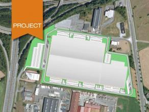 Projet de nouvelle construction d'entrepôts sur mesure à louer. Ce site se trouve dans le zoning industriel de Heppignies, à c&oci