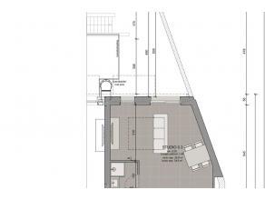 LEUVEN - Een mooie en goed ingerichte studio, in een renovatieproject van in totaal 19 studios (30,1m² tot 46,3m²) en appartementen met 1 sl