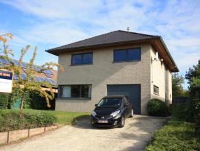 Villa moderne dans quarier calme et résidentiel à Moorsel, sur 6,5are. Près de l'école BSB à Tervuren (3,7km) et le