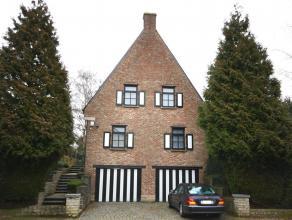 Villa dans quartier calme et residentiel à Moorsel. Près de l'école BSB à Tervuren (4,2km), l'école Allemande &agra
