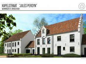 Halfopen nieuwbouwwoning gelegen in de park tuin van de woning 'Jules Persyn' met prachtige Zuidwest gerichte tuin, Begijnhofstijl volgens de huidige