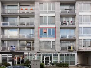 Goed gelegen appartement met een living, recent open ingerichte keuken met eethoek, badkamer met ligbad en toilet, 1 ruime slaapkamer. Er is mogelijk