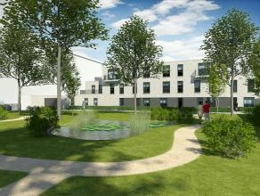 Prachtige luxe penthouse van ca 113 m² in residentie Magritte II met groen zicht, 3 slaapkamers, luxe open keuken, ruim terras, ondergrondse auto