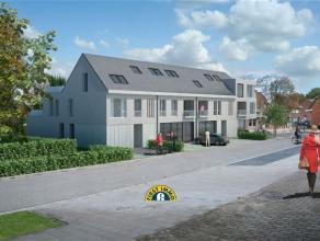 Op de hoek van de Kapellensteenweg en de recent aangelegde Zoete Dreef, pal in het centrum van Kalmthout, wordt dit pareltje opgetrokken. Het project