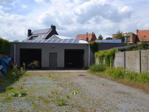 Magazijn van ca. 205m² of projectgrond op een zeer centrale locatie te Kalmthout-Heide! Straatbreedte perceel: ca. 10 meter. KORTE OMSCHRIJVING: