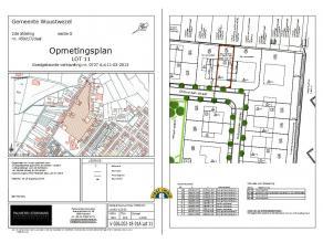 Verkaveling voor woningbouw van grond gelegen tussen de oude Baan en de Grotstraat te Gooreind-Wuustwezel. LOT 11 - NIEUWE BAAN 24 van 280 m² met