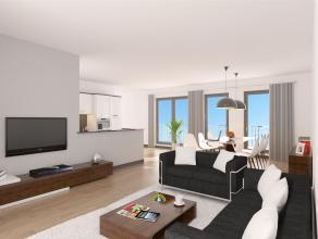 Nieuwbouw 2 slaapkamer appartement te residentie Diabolo, gelegen in de Wilrijkse wijk Duivelshoek ter hoogte van de Krijgslaan nabij De Bist. Verkoop
