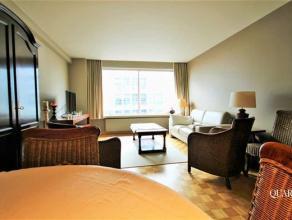 Gezellig gemeubeld 1 slaapkamer appartement met terras nabij het Mechelseplein!<br /> Het appartement bevindt zich op de 6de verdieping en is bereikba